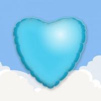 """Light Blue 18"""" Printed Foil Balloons 1"""