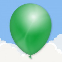 Metallic Green Printed latex balloons
