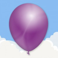 Metallic Lilac Printed latex balloons