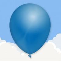 Standard Blue custom printed balloons
