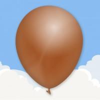 Standard Brown Printed latex balloons