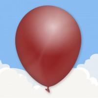 Standard Burgundy Printed latex balloons