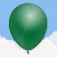 Standard Dark Green Printed latex balloons
