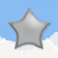 """Light Blue 18"""" Star Printed Foil Balloons"""
